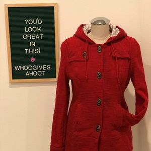 Red Nubby Jacket